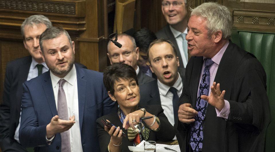 Engels parlement john bercow voorzitter