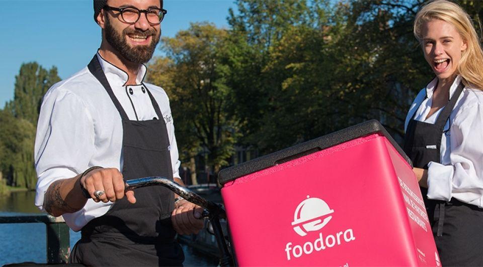 Foodora groei app amsterdam