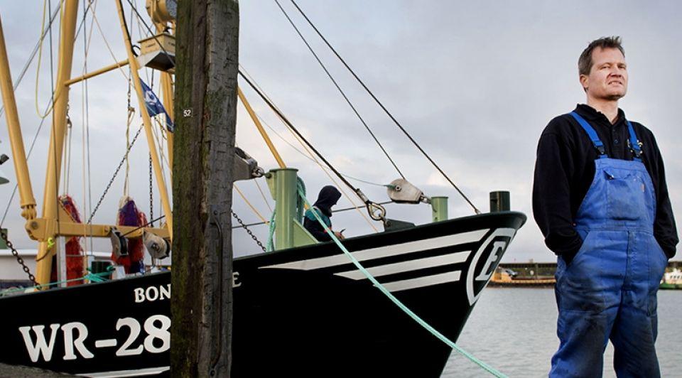 Garnalenboot nieuw