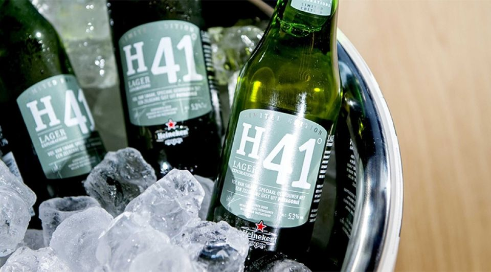 H41 heineken bier