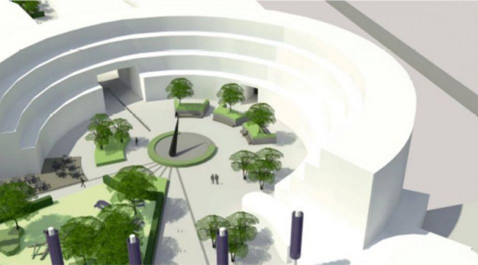 Heksenwiel breda winkelcentrum facelift bouwplan vernieuwing renovatie winkelrotonde