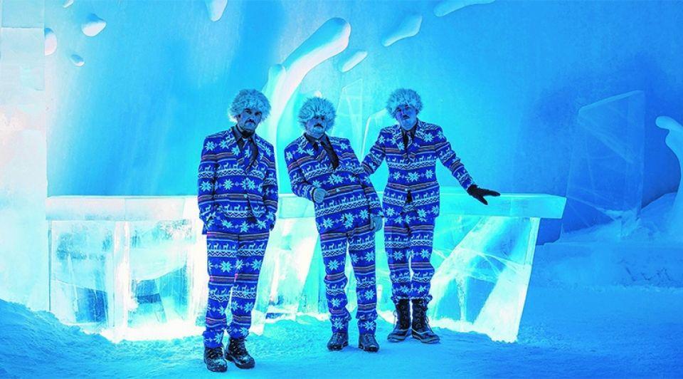 Ijsmannen icehotel365
