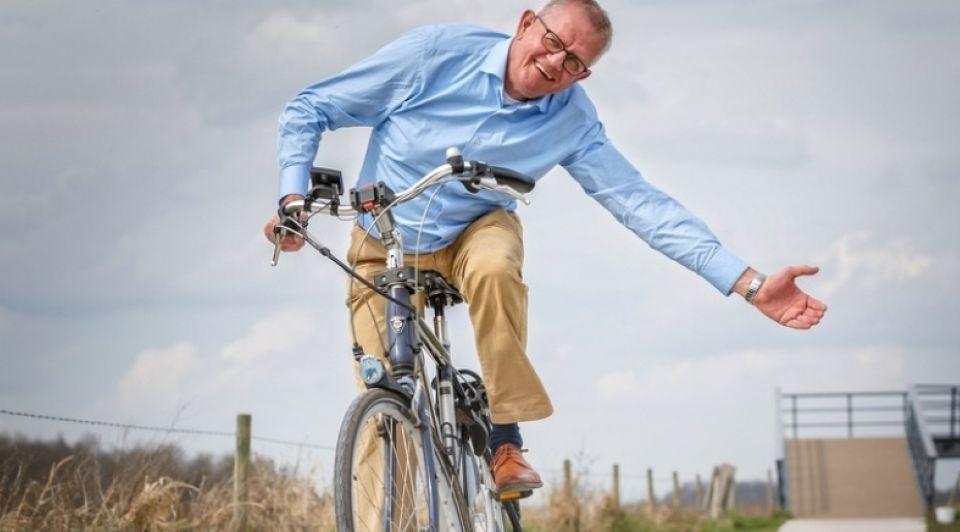 Innovatie doorzetten lichtgevend fietspad pedro sluiter