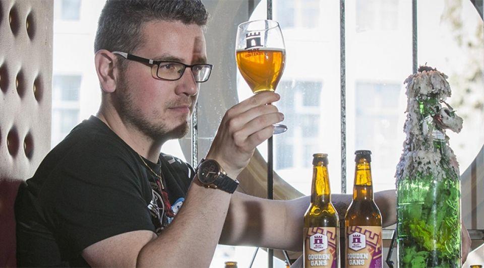 Jens van stee slot oostende bierbrouwer zytholoog