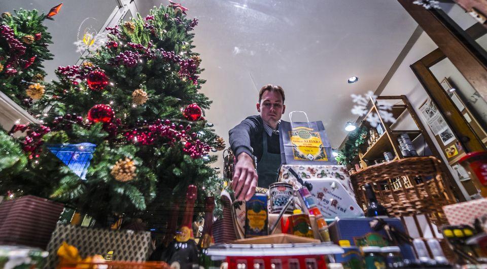 Kerstetalages Papestraat Den Haag Fredleeflang