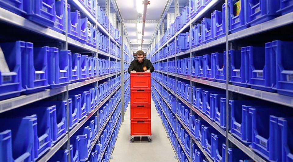 Logistiek distributie 1065
