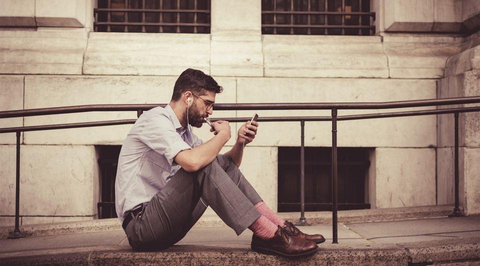 Marketing mobiel reclame smartphone