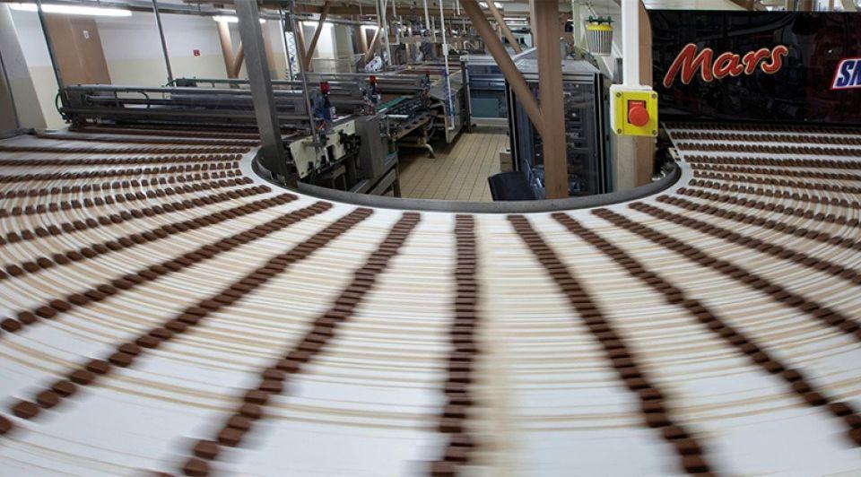 Mars lopende band fabriek