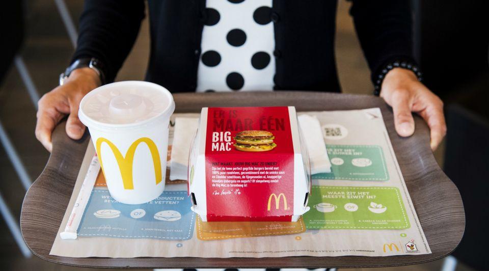 Mcdonalds big mac alleenrecht merkregistratie