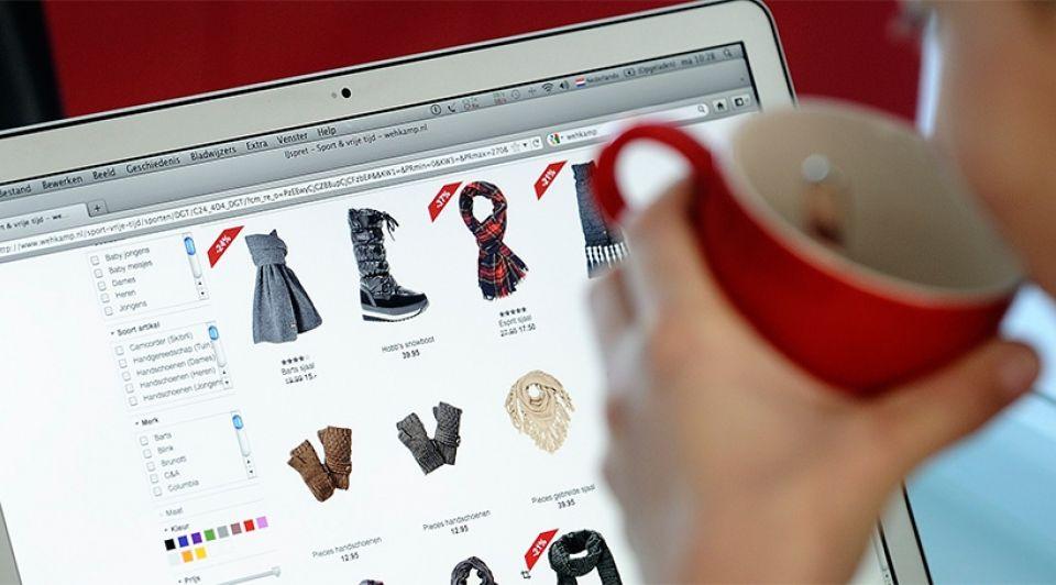 Online shoppen webwinkel koopjesjagen