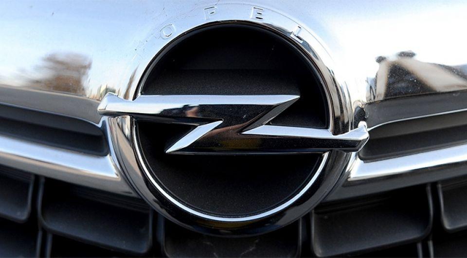 Opel automerk logo