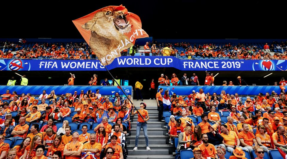 Oranje vrouwenvoetbal wk