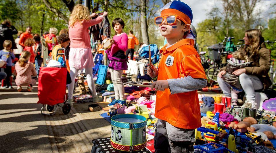 Overzicht vrijmarkten koningsdag 2018 amsterdam rotterdam utrecht den haag groningen maastricht eindhoven