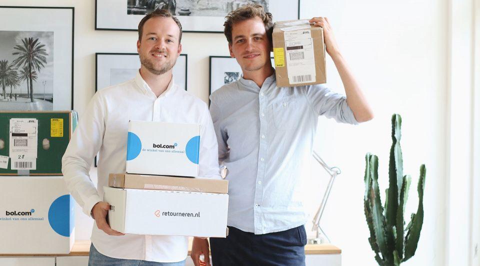 Retourneren pakketten startup ondernemen 1