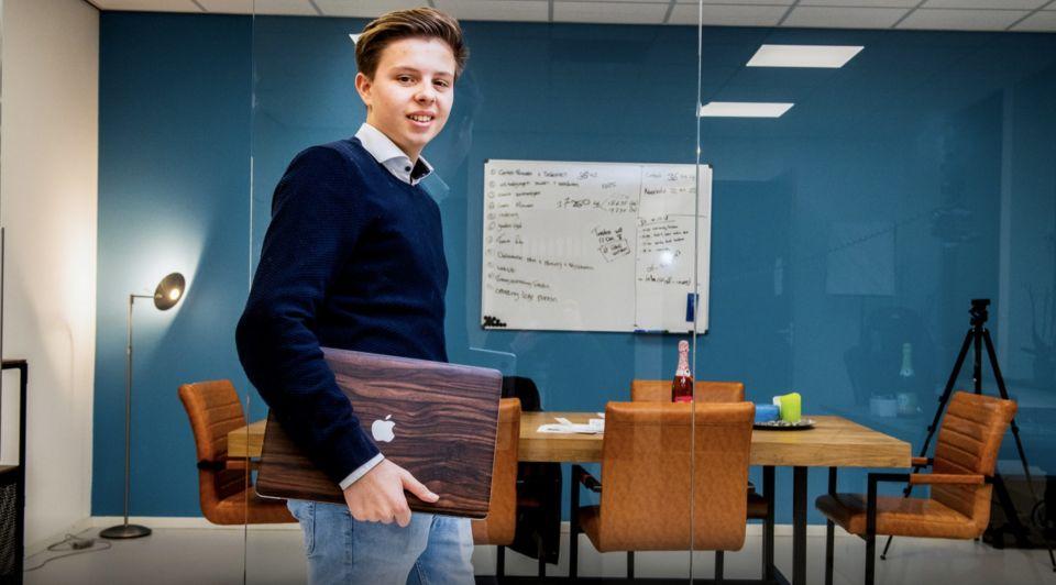 Roderick 18 ondernemer 10 man personeel audi