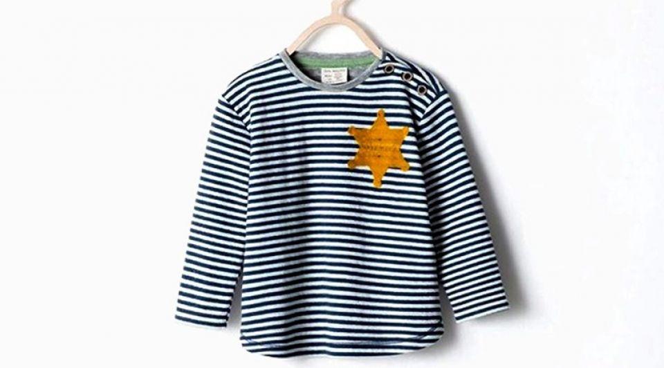 Schandaal kleding zara jodenster merk controverse