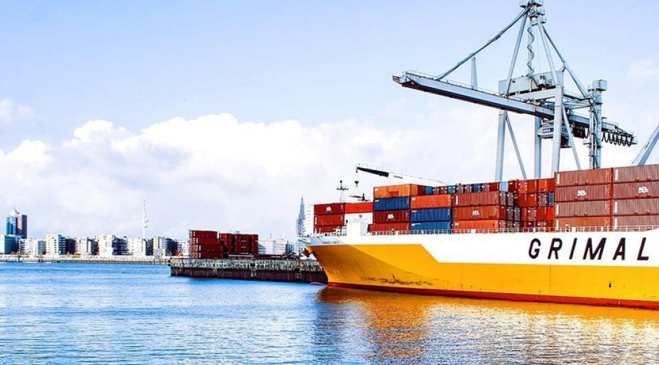 Schip export import stock