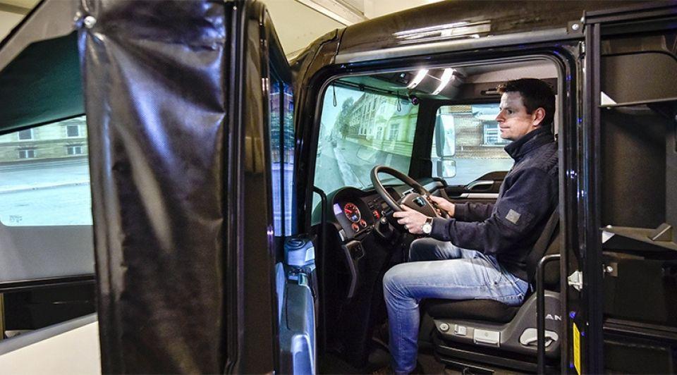 Simulator vrachtwagen stefan koopmans