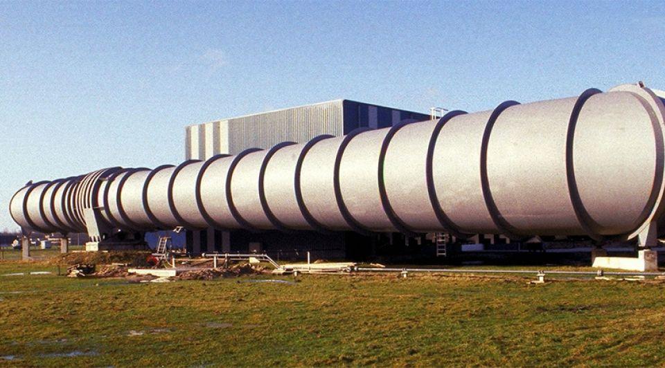 Snelheidswindtunnel nationaal lucht en ruimtevaart laboratorium marknesse