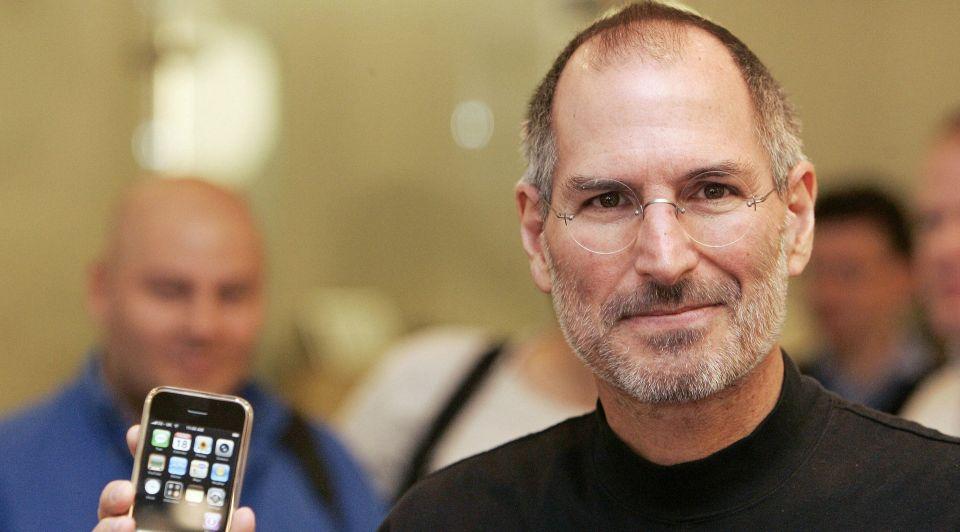Steve jobs apple i Phone gebruikers safari browser apps applicaties app store