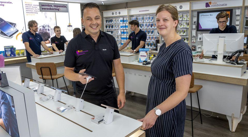 Telecombinatie Middelharnis winkelier retail