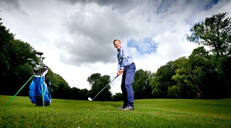 The company golf club