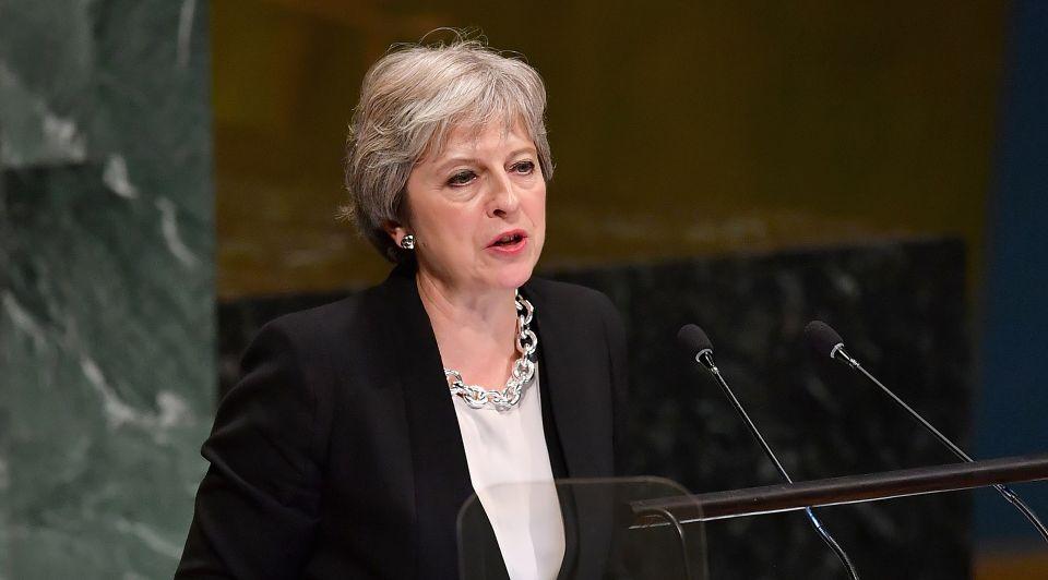Theresa May 2