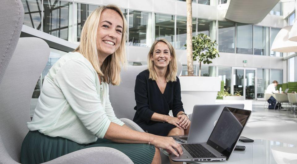 Tweelingzussen Florien Suzanne Klok Deloitte