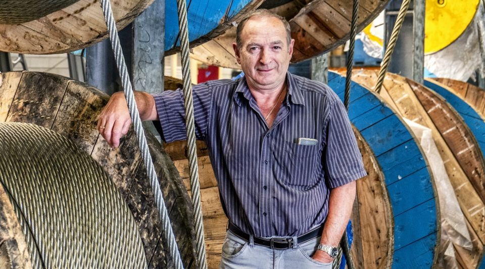 Urker vissers zwaar weer dreigende brexit windmolens zee