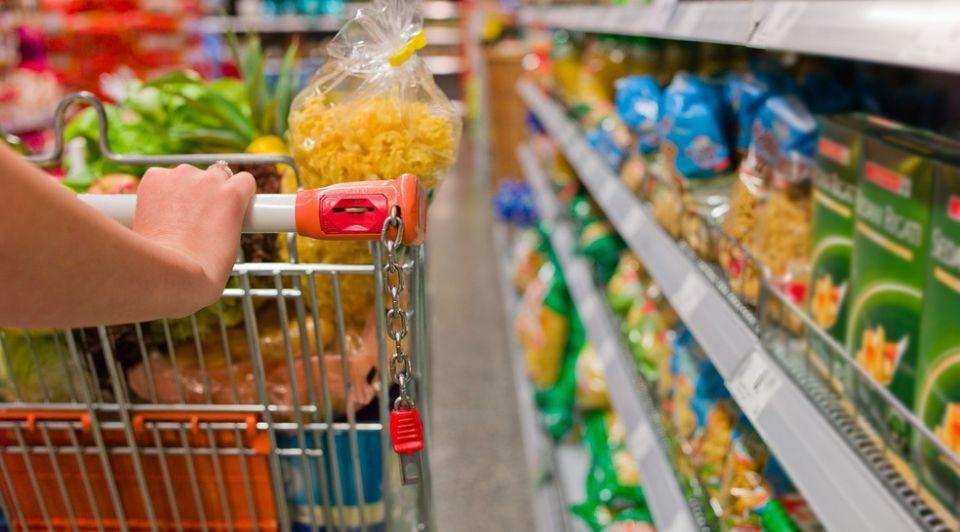 Verpakkingen supermarkt felgekleurd onderzoek