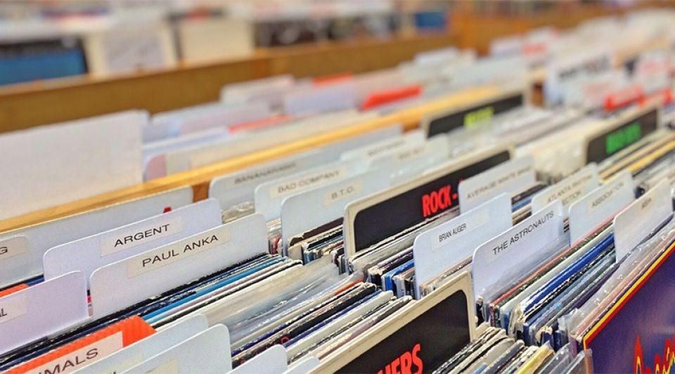Vinyl platen muziek platenzaak albums