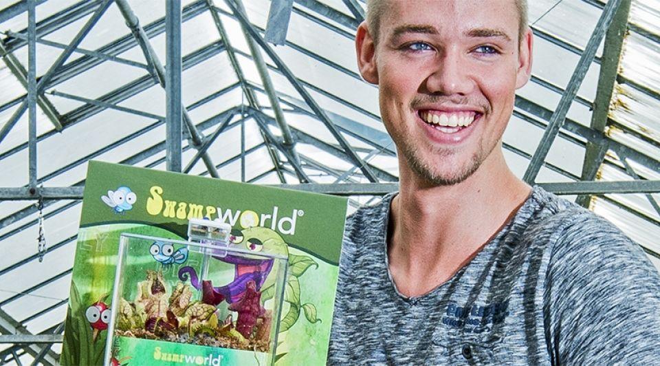 Vleesetende plant bleiswijk ondernemer muggen omzet 1065