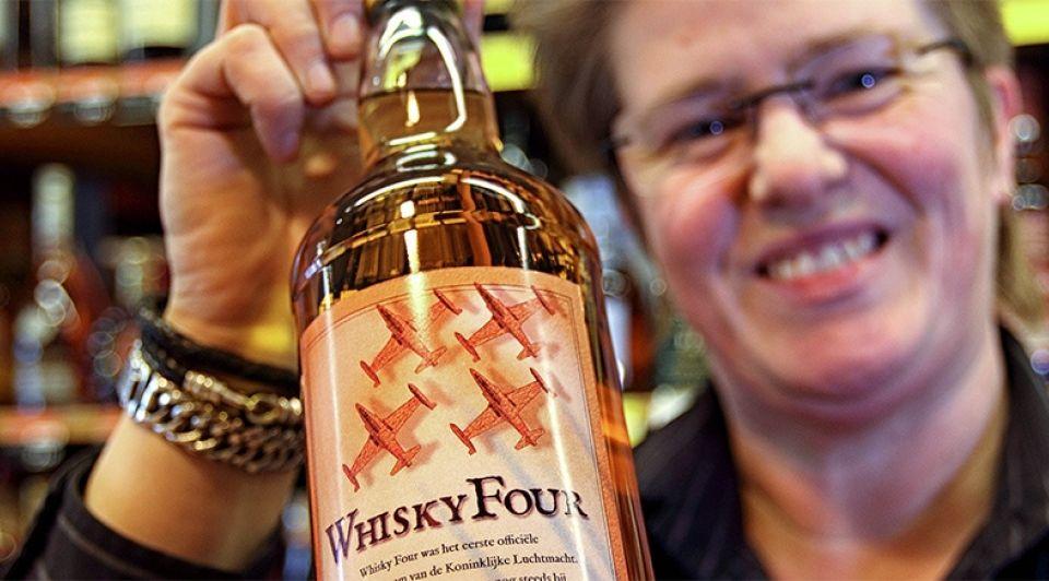 Whisky four nieuw drank