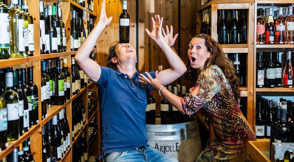 Wijnhandel Kroese Epe Bas Andrea Kroese wijnkoperij wijn prijzen bekroond prijs winnaar wijnhuis