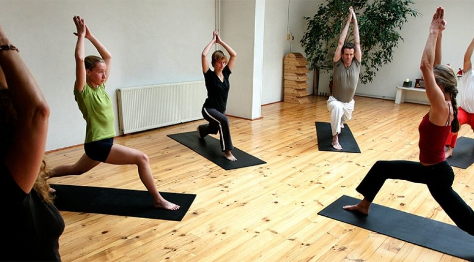 Yoga sporten trainen