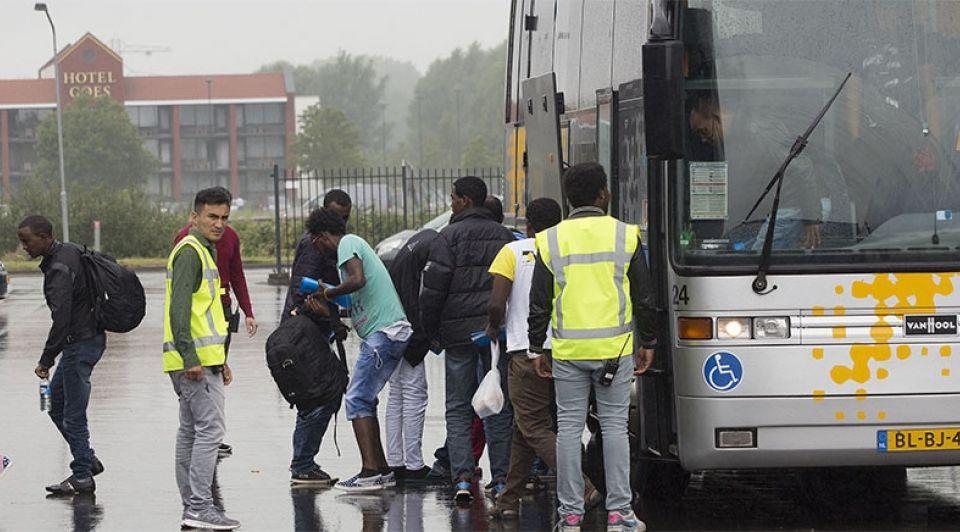 Zeelandhallen vluchtelingen