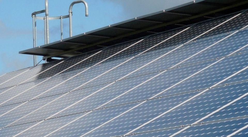 Zonne energie zonnecellen1065