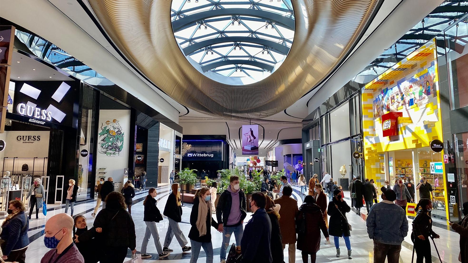 De op 20 maart geopende Mall Of The Netherlands in Leidschendam. Foto: Hans van Tellingen